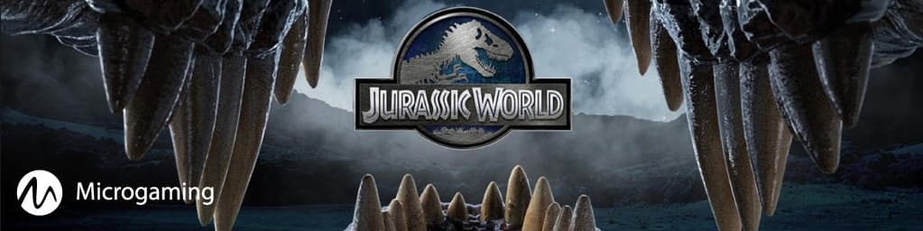 Jurassic World slot banner