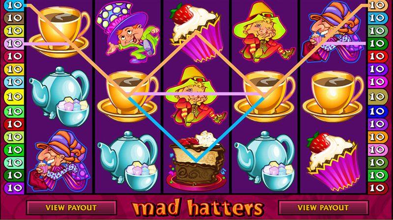 Mad Hatters Spilleplade Gevinst