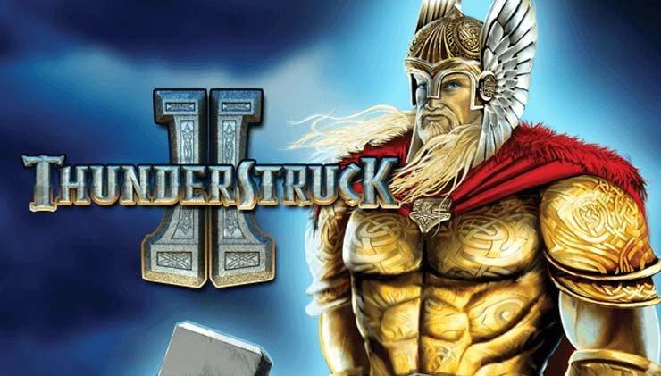Thunderstruck II Banner med Thor