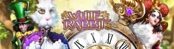 Den hvide kanin på White Rabbit banner