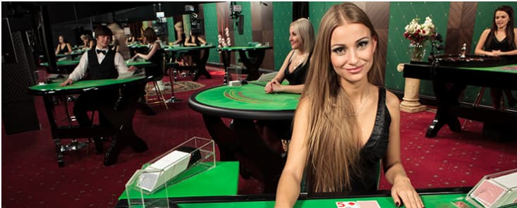 Live Casino Blackjack Dealer