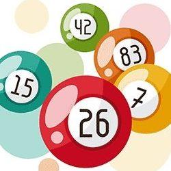 Bingo Kugler med Tal og Farver