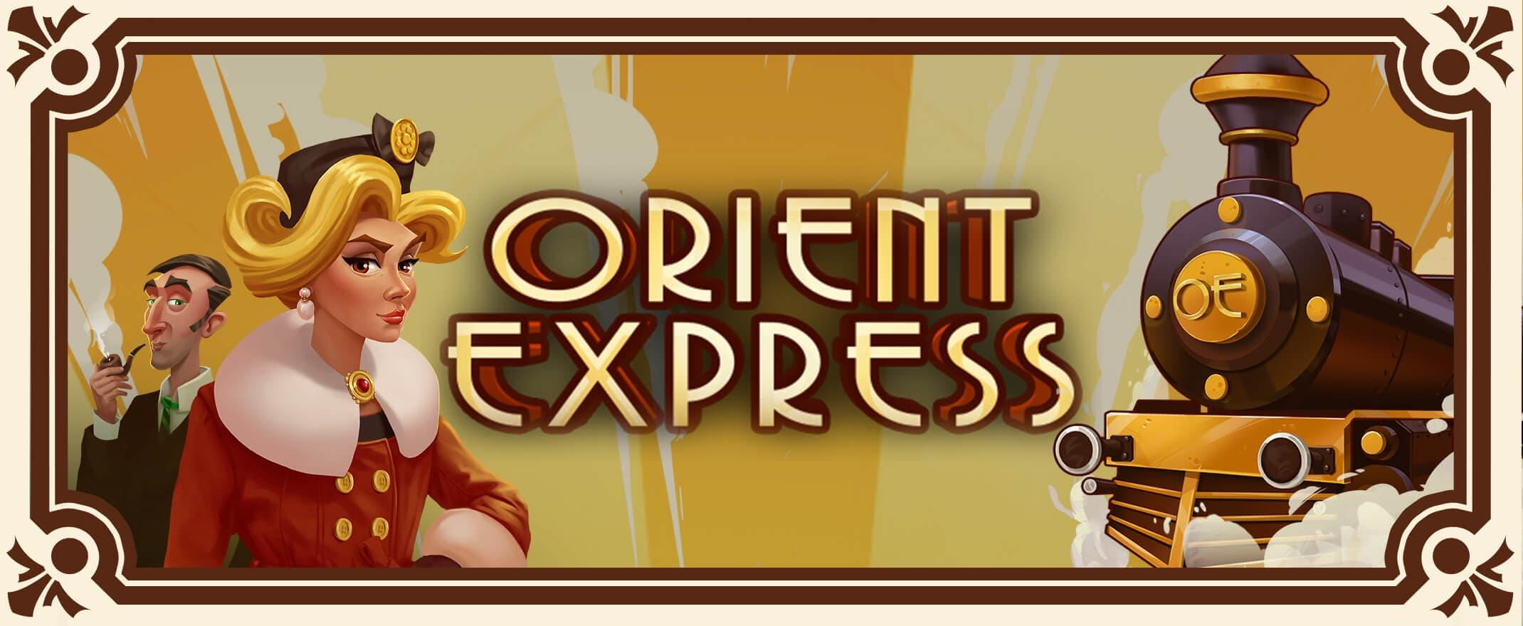 Orient Express spilleautomat banner