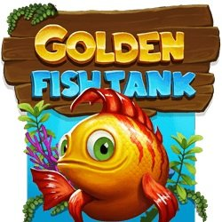 Golden Fish Tank Logo