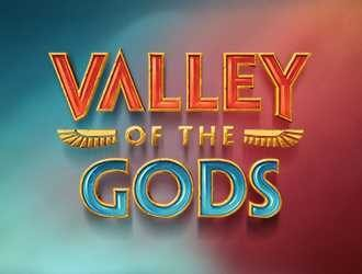 Valley of the Gods Logo med Bogstaver
