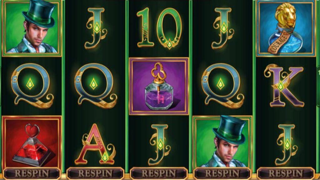 Book of Oz Spilleplade med Symboler