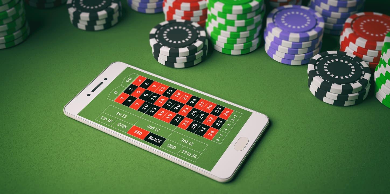 App der spiller roulette på telefon