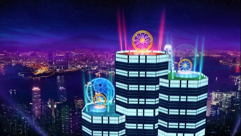 Hong Kong Tower Bygninger og Bonus Symboler