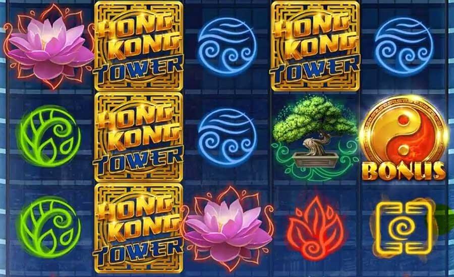 Hong Kong Tower Spilleplade med Symboler