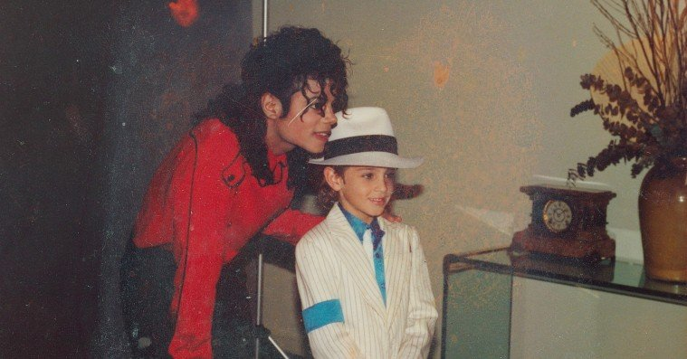Michael Jackson og Cover til Leaving Neverland