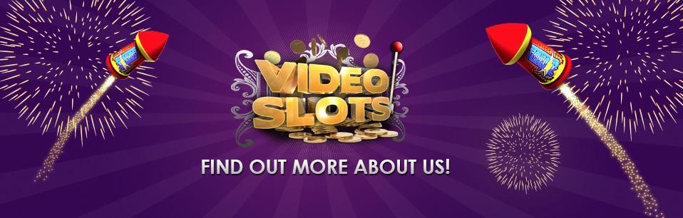 Banner med VideoSlots logo