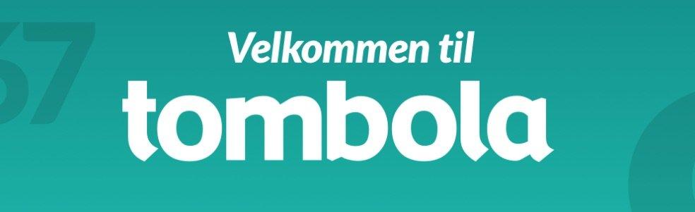 Tombola velkomst banner