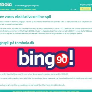 Tombola bingoside