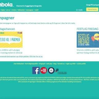 Tombola kampagneside