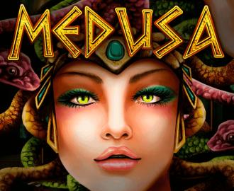 Medusa Logo Medusa med Slanger og Bogstaver