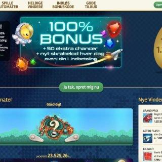 Pip.dk Casino forside