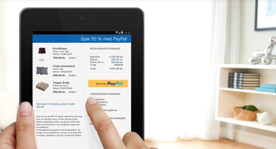 PayPal på mobilen