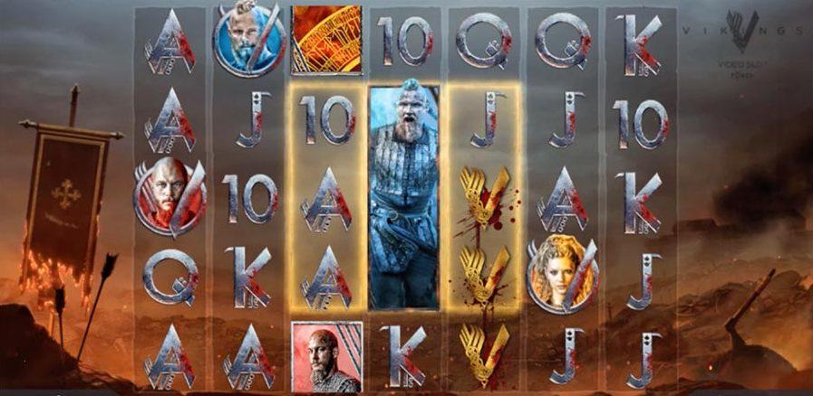 Vikings Spilleautomat Spilleplade med Bonus