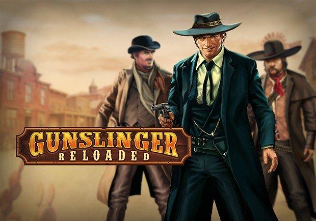 Gunslinger Reloaded Logo Spilleautomater med jackpots