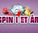 1 års gratis spins hos Slotsmagic casino