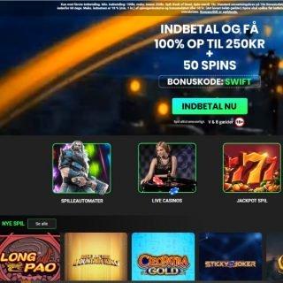 Swift Casino Forside