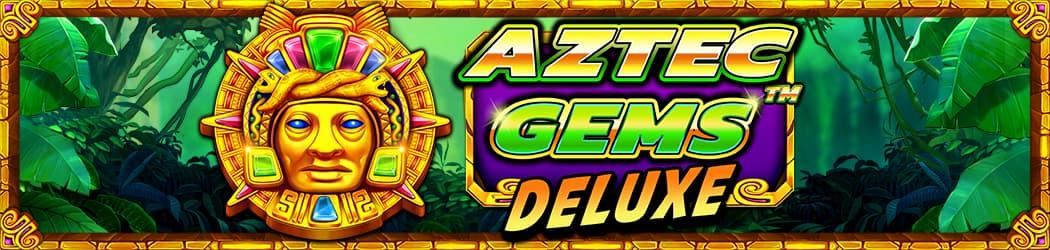 Aztec Gems Deluxe Banner
