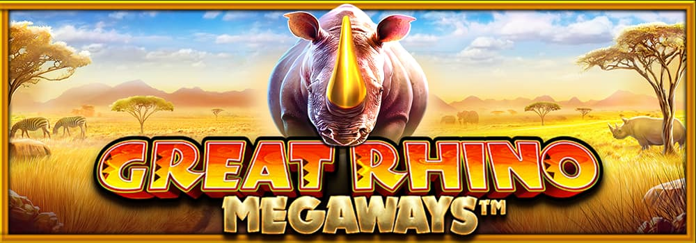 Great Rhino Megaways Banner