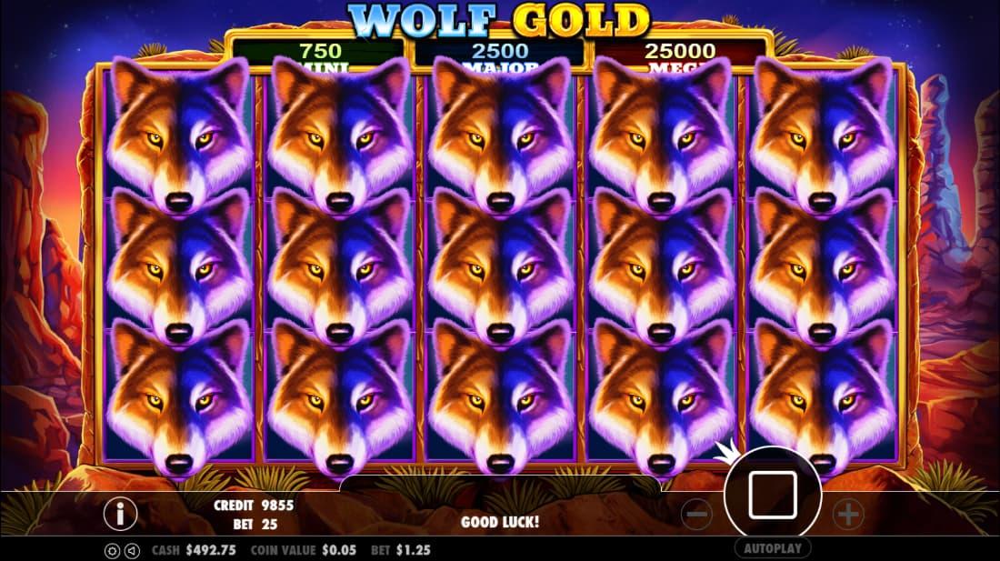 Wolf Gold Bonus Feature