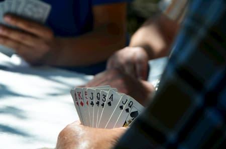 Casino spil til festen kort spil