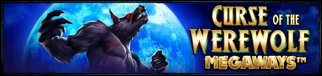 Curse of the WereWolf Megaways Banner