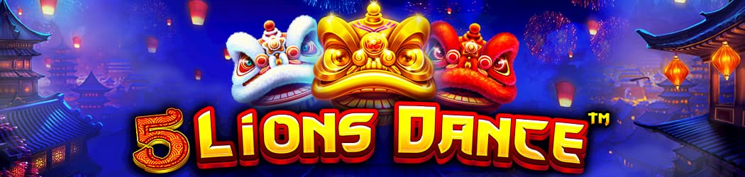 5 Lions Dance Banner