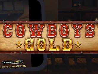 Tag på skattejagt i det vilde vesten med Cowboys Gold spilleautomaten