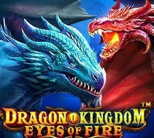 Dragon Kingdom - Eyes of Fire Logo
