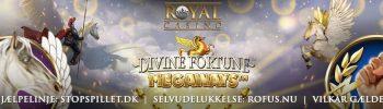 Lykkehjulet Divine Fortune Megaways Tilbud Banner