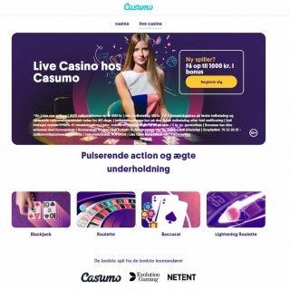 Casumo Casino Live Casino
