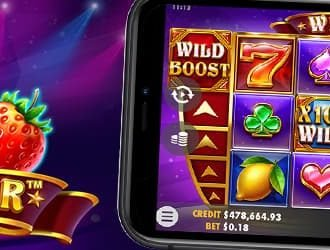 Prøv den nye Wild Booster spilleautomat