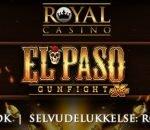 Spil det nye El Paso Gunfight hos Royal Casino
