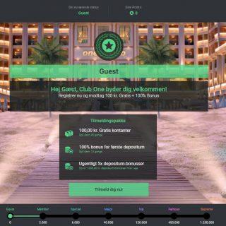 One Casino VIP klub