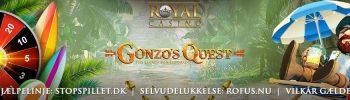 Gratis Chancer til Gonzos Quest Banner
