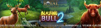 Deposit Match Bonus til Blazing Bull 2