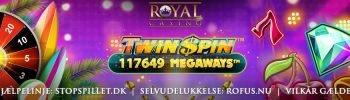 Twin Spin Megaways Spilleautomat