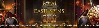 Cash Spins til Alle Indbetalende Spillere Banner