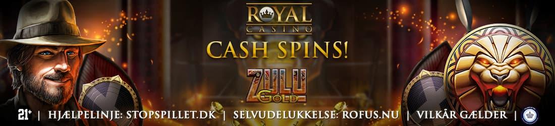 Cash Spins til alle indbetalende spillere