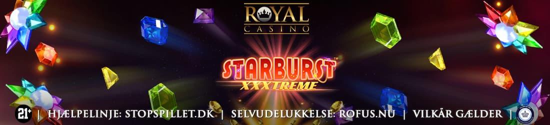 Slut september med Gratis Chancer til Starburst XXXtreme