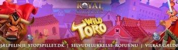 Royal Casino og Gratis Chancer til Wild Toro Banner