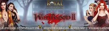 Chancer til WIld Blood 2 Banner