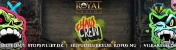 Hacksaw Gaming hos Royal Casino Banner